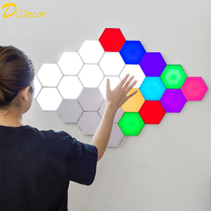 """OctoLite"" 10pc Sensitive Magnetic Connecting Helios LED Lighting White or Colors FREE SHIPPING $89.99"