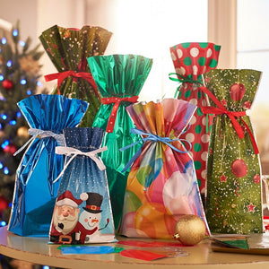 """WrapItSac"" Christmas and Holiday Gift Wrapping Made Easy FREE SHIPPING"