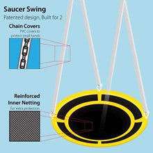 Load image into Gallery viewer, Super Saucer Metal Swing Set