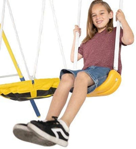 Super Saucer Metal Swing Set