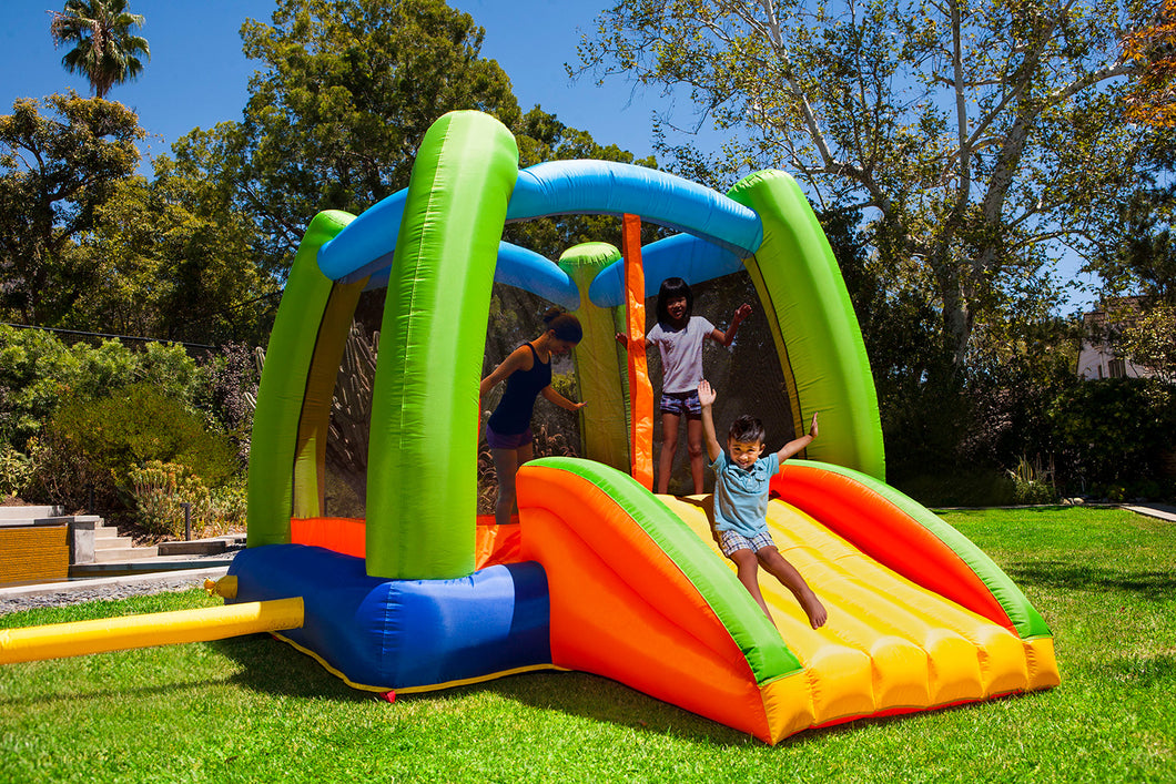 My First Jump N Play Inflatable Backyard Jumper
