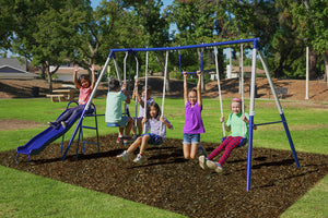 Arcadia Metal Swing Set