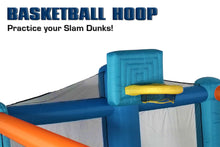 Load image into Gallery viewer, Fly Slama Jama Inflatable Backyard Basketball Court