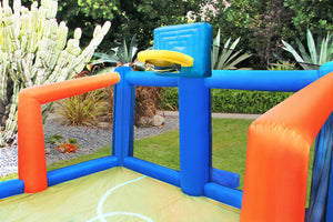 Fly Slama Jama Inflatable Backyard Basketball Court