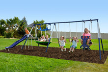 Load image into Gallery viewer, Rosemead Metal Swing and Slide Set