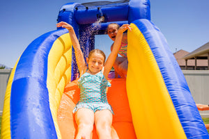 Big Wave 2 Water Slide Backyard Inflatable Jumper