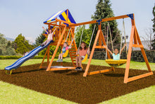 Load image into Gallery viewer, Willow Creek Wooden Swing Set