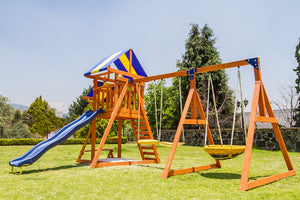Willow Creek Wooden Swing Set