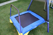 Load image into Gallery viewer, Almansor Metal Swing, Slide and Trampoline Set