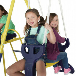 Super Star Swing, Saucer, and Slide Set