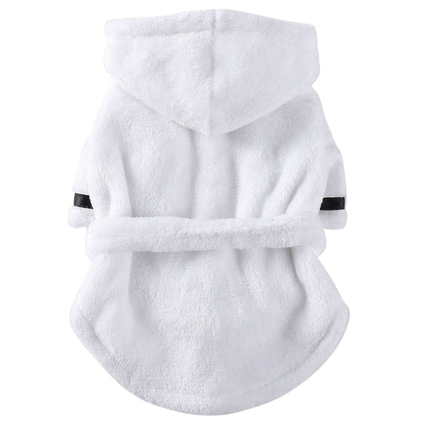 dog robe bath towel