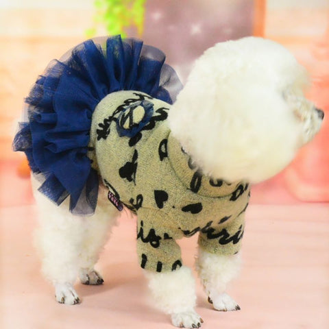 paris dog dress costume