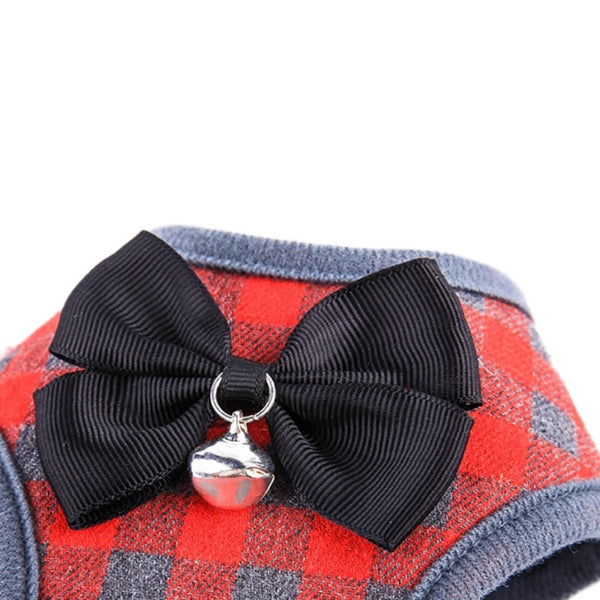 Bowtie Harness and Leash Set (2 colors)