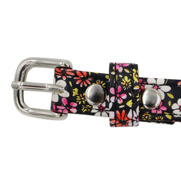 floral bow dog harness
