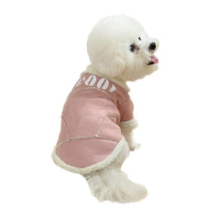 cool fleece dog jacket
