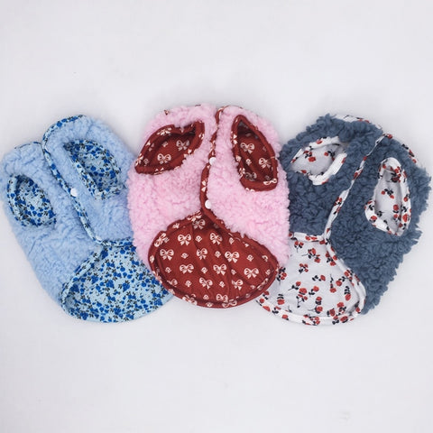 reversible fuzzy fleece dog vest