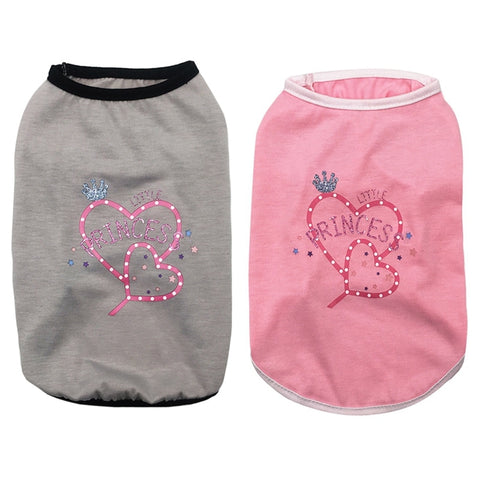 little princess dog tank shirt