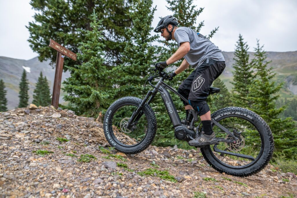 the number one electric off road mountain bike