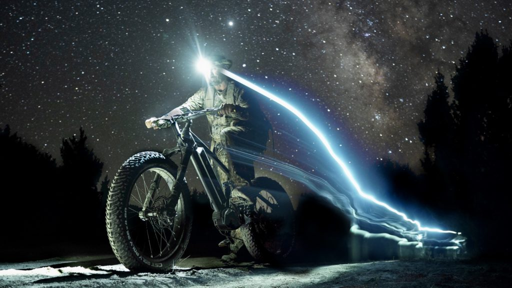 exploring into the night with quietkat ebikes
