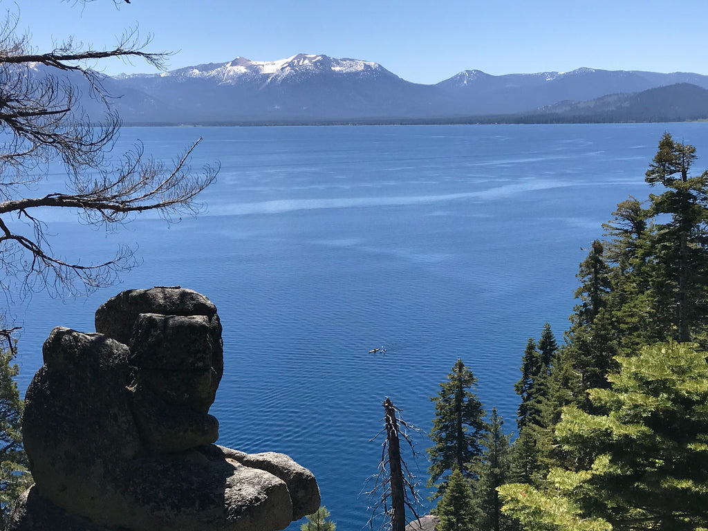 View of Lake Tahoe from the Rubicon Trail