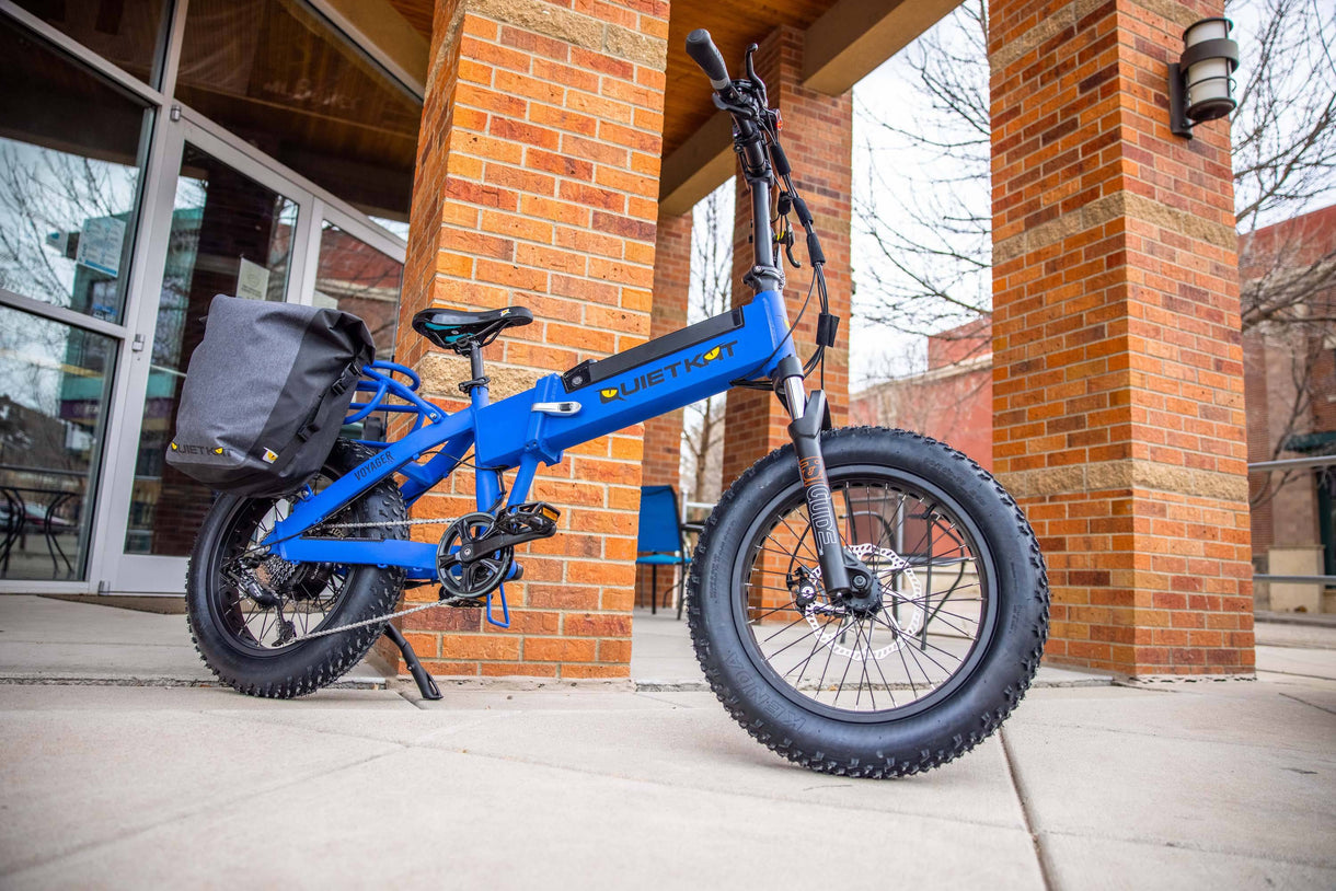 fat tire electric bike hunting QuietKat Voyager