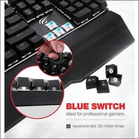 Mechanical Gaming Keyboard & Mouse - Cybersmart.store