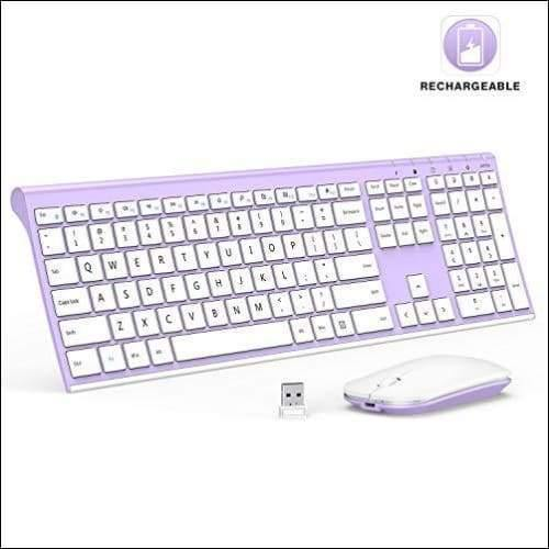 Ultra Slim Wireless Keyboard & Mouse Set - Cybersmart.store