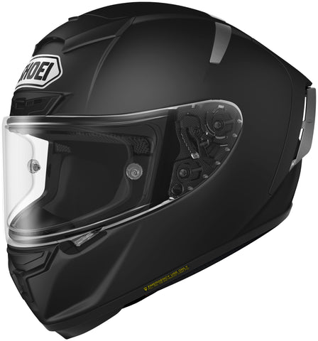 Shoei X-14 Full Face Helmet Matte Black