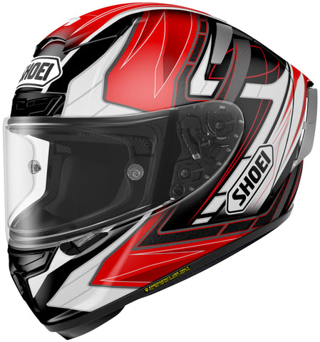 Shoei X-14 Assail Tc-1 Full Face Helmet Tc1