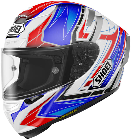 Shoei X-14 Assail Tc-2 Full Face Helmet Tc2