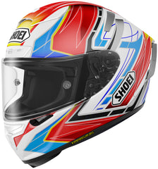 Shoei X-14 Assail Tc-10 Full Face Helmet Tc10