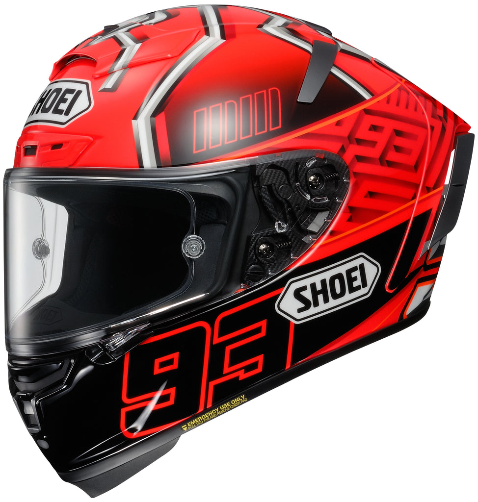 Shoei X-14 Marquez 4 Tc-1 Full Face Helmet Tc1