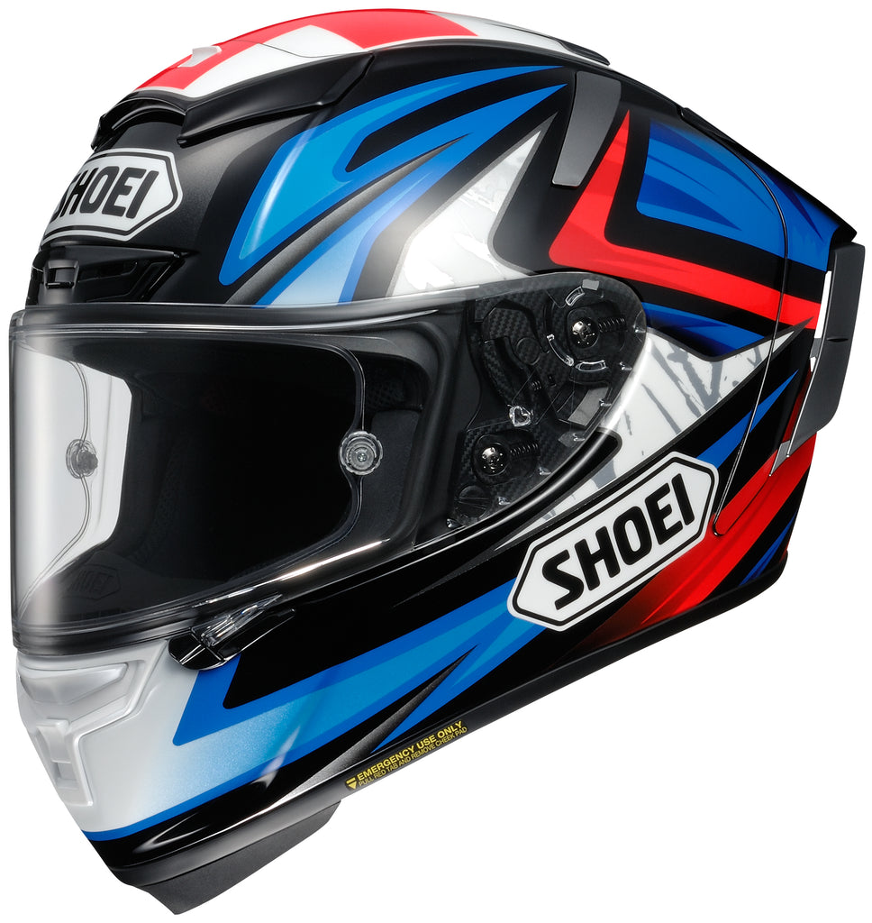 Shoei X-14 Bradley 3 Tc-1 Full Face Helmet Tc1