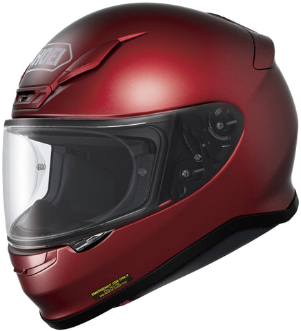 Shoei Rf-1200 Full Face Helmet Wine Red