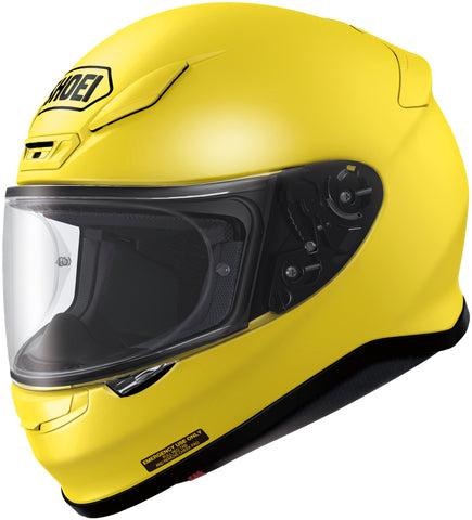 Shoei Rf-1200 Full Face Helmet Brilliant Yellow