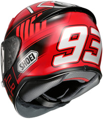 Shoei Rf-1200 Marquez 3 Tc-1 Full Face Helmet Tc1