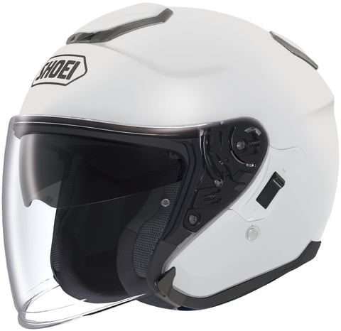 Shoei J-cruise Open Face Helmet White