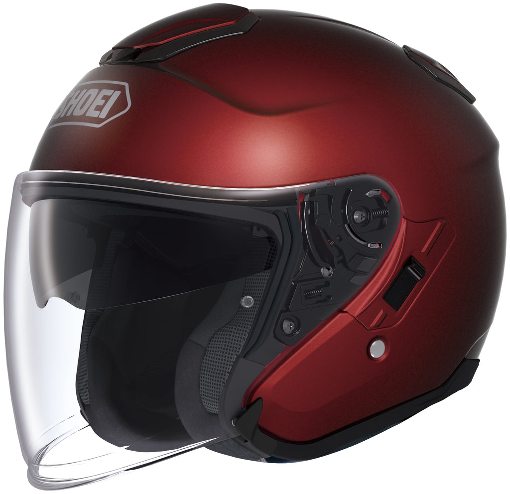 Shoei J-cruise Open Face Helmet Wine