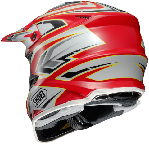 Shoei Vfx-w Block Pass Off Road Helmet Tc1
