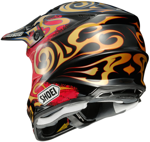 Shoei Vfx-w Taka Tc-1 Off Road Helmet Tc1