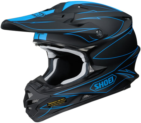 Shoei Vfx-w Hectic Tc-2 Off Road Helmet Tc2