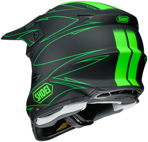 Shoei Vfx-w Hectic Tc-4 Off Road Helmet Tc4