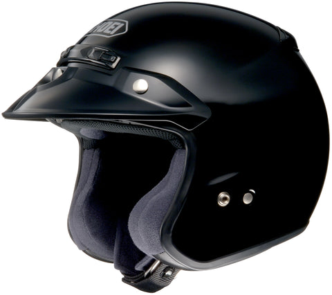 Shoei Rj Platinum R Open Face Helmet Black