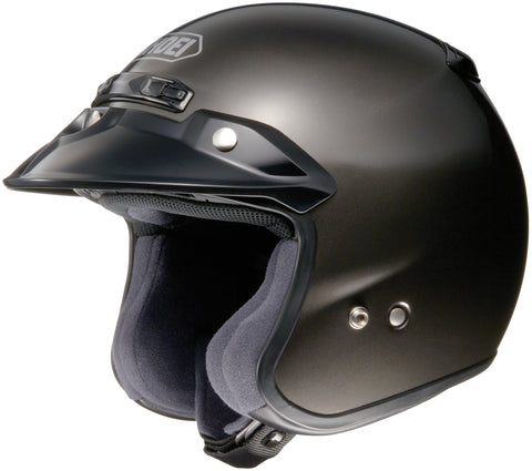 Shoei Rj Platinum R Open Face Helmet Anthracite