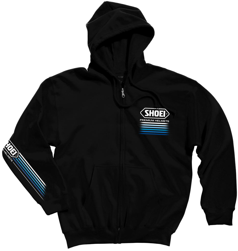 Shoei Shoei Speed Zip Sweat Blk Shoei Casual Wear