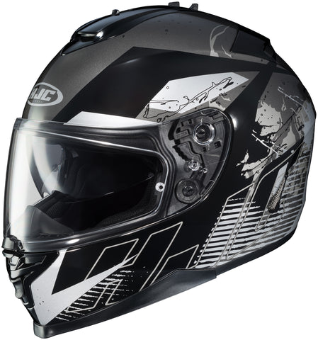 Hjc Is-17 Blur Mc-5 Full Face Helmet Mc5