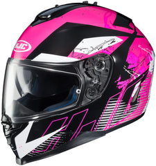 Hjc Is-17 Blur Mc-8 Full Face Helmet Mc8