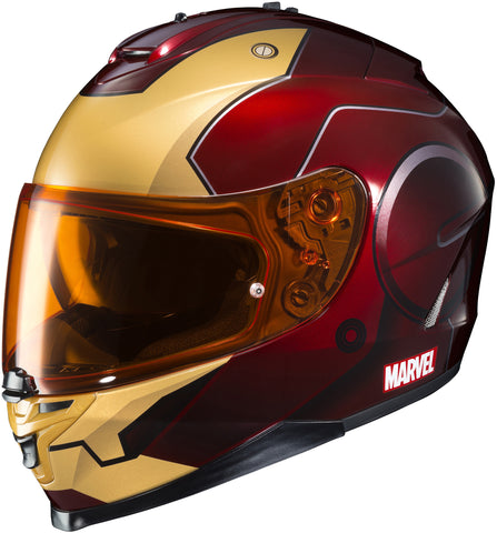 Hjc Is-17 Marvel Iron Man Full Face Helmet