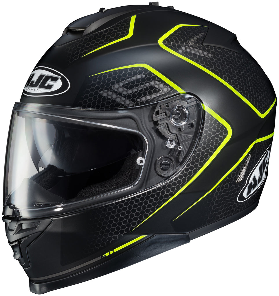 Hjc Is-17 Lank Mc-3hsf Full Face Helmet