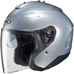 Hjc Is-33 Ii Open Face Helmet Silver